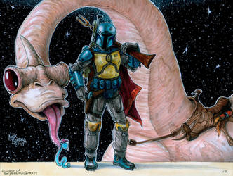 Boba Fett ( Holiday Special ) by Phraggle