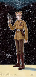 Lieutenant Connix by Phraggle