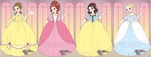 Marie Anotinette Princesses by x-pink-tutu-x