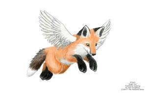 Angel Fox by AlexKSFox