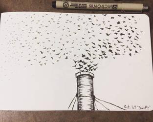 swift. inktober day 1 by ren-ram