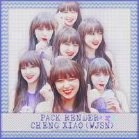 SHARE PNG PACK #12 - CHENG XIAO (WJSN) by Kinoshita-san