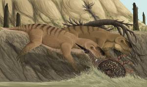 Paleozoic Crab Fishing by TrollMans