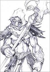 Skeletor by kamgates