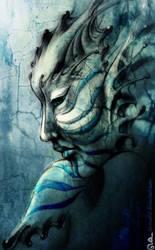 Blue Nayade by DavinArfel