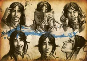 Expressions : Tisden by DavinArfel