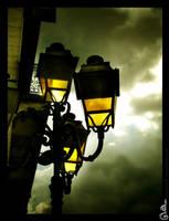 Four lamps by DavinArfel