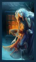 Ice man by DavinArfel