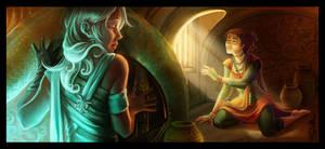 Two Faces : Noemie or Ela by DavinArfel