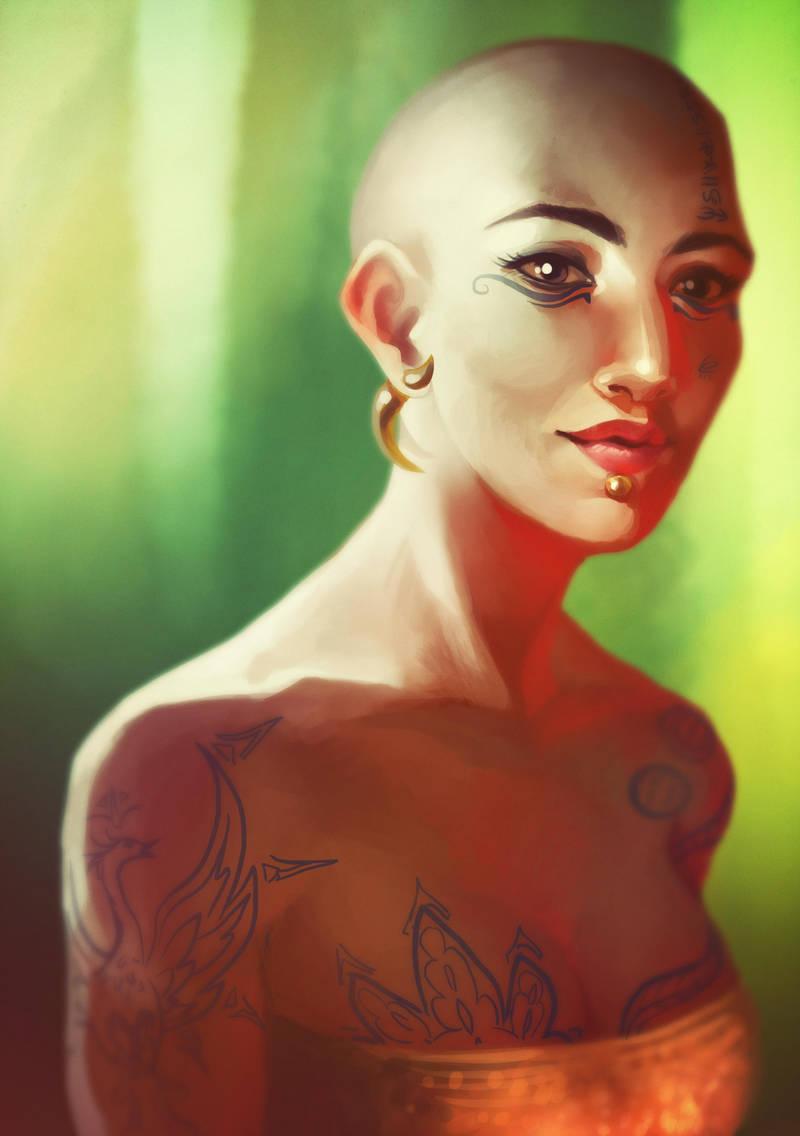 Commission - Tresja by DavinArfel