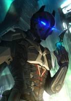 Commission - Arkham Knight by DavinArfel