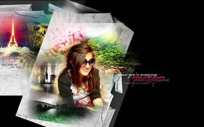 My amazing friend Emma by beruneshkaa