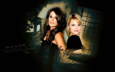 Dianna + Lea 'For Ariella' by beruneshkaa