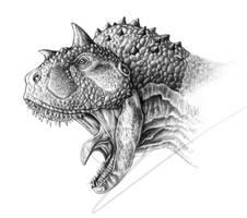 Carnotaurus Portrait by ArtOfNoxis