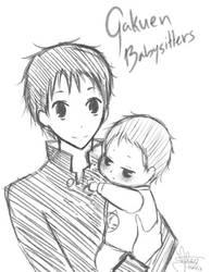 Gakuen Babysitters - ryuuichi and koutaro by Airinx