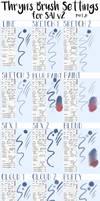 Thryn's SAI v2 Brush Settings PART 2 by Azuriaus