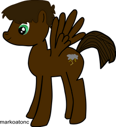 My first oc- Vector version by markoatonc