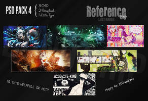 Psd Pack4 by LR by Keith-Ryan-Scarlet