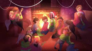 Happy Holidays!! (ELEMENTS) by Elemental-FA