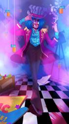 Mr Marbles - Magic Funhouse by Elemental-FA
