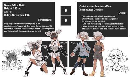 Domino - BNHA OC by Elemental-FA