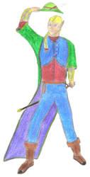 Anston Seya, Gentleman Duelist by Horuke