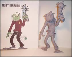 MottiMarloidMaquette by MumboJumbo