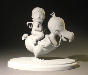 BoyAndDodoSculpture by MumboJumbo