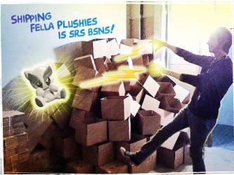 Fella Plushies are Srs Bsns by Heidi