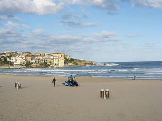 Bondi Beach New South Wales by Heidi