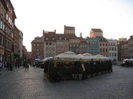 Warsaw's Old Town by Heidi