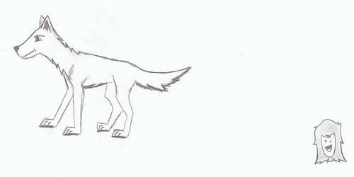 Puppy Wolf by Heidi