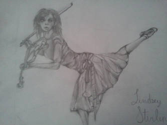 Lindsey Stirling by lovepastatodeath