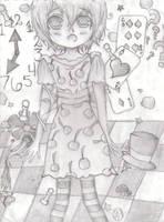 Cherry in Wonderland by HeartlessVampire