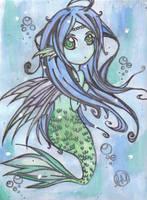 Water Fairy by HeartlessVampire