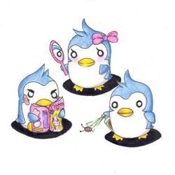 Penguins by HeartlessVampire