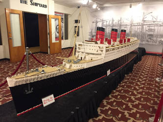 Lego Queen Mary by TheHorribleHistorian