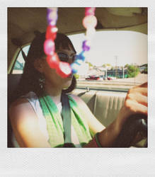 Anna Driving 2 by Poet168