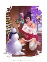 Holiday Mei by krysdecker