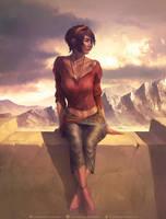 Leah by krysdecker