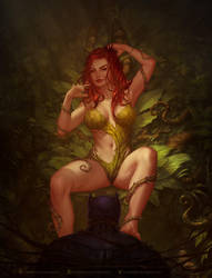 Poison Ivy by krysdecker