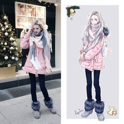 Winter outfit by fayrine