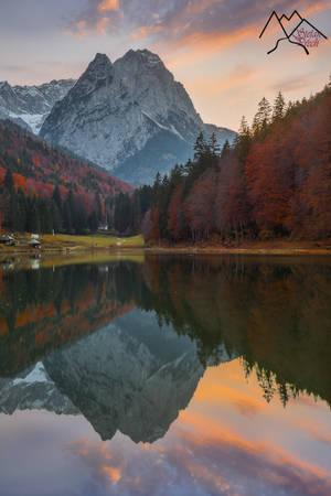 perfect reflection on a mystical german lake by StefanPrech