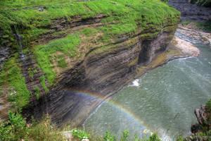 Rainbow Falls I by Mooseushi