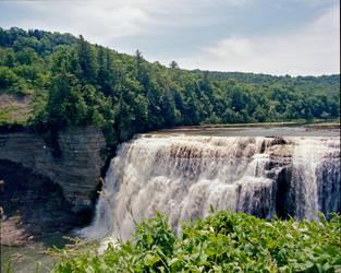 Letchworth Falls I by Mooseushi