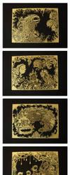 Acid Etched Brass Series by mtomsky