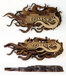 Tomsky Logo by mtomsky