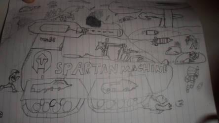 Serria-117 and Sheila (Spartan Machine) on Reach by GODWHY
