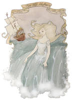 Den Lille Havfrue (The Little Mermaid) by Noxfae