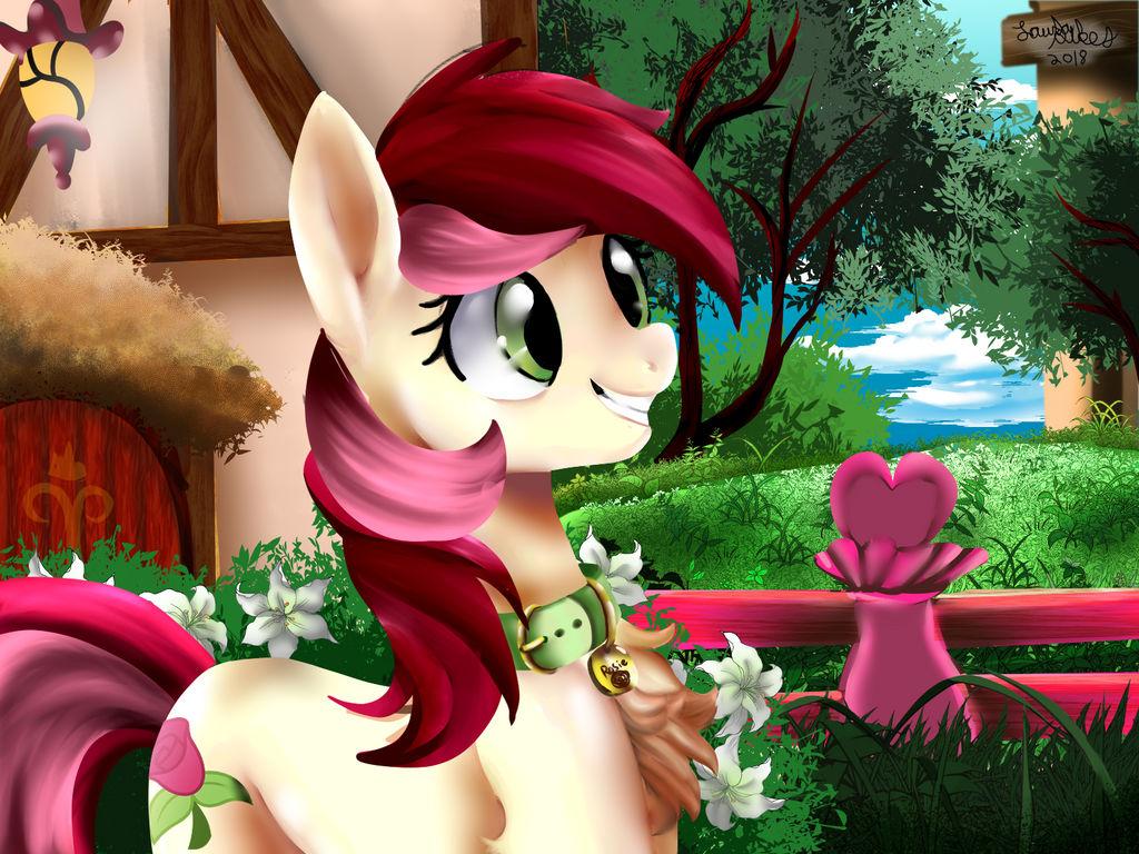 Screencap redraw Roseluck by IBrainWashedYou
